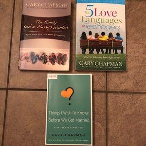 SALE 7/$20 Gary Chapman books